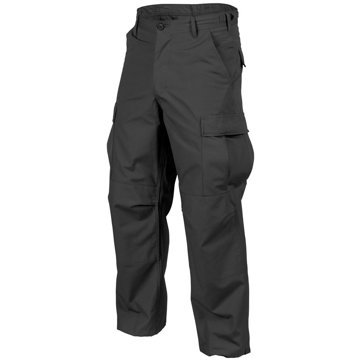 black tactical cargo pants - photo #2