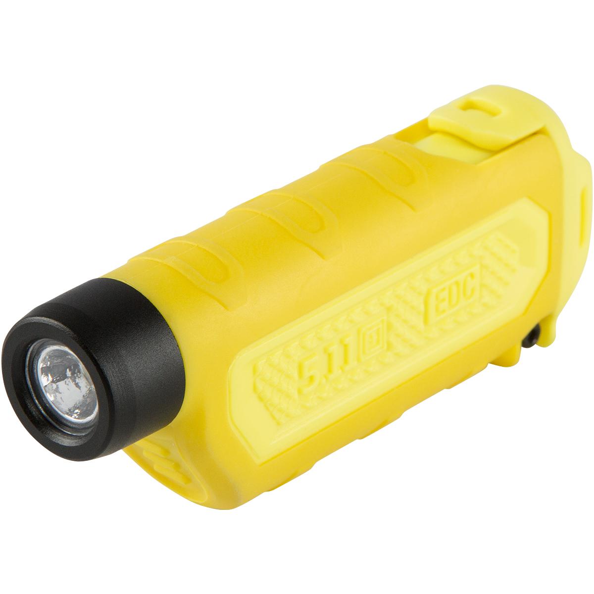 tpt edc led flashlight small travel cree torch safety light traffic yellow ebay