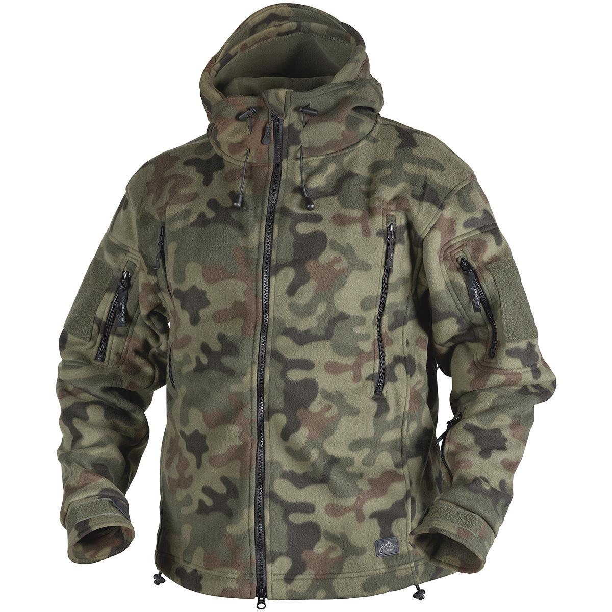 Helikon Tactical Warm Double Fleece Hooded Mens Hunting
