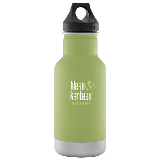 Klean Kanteen 355ml Classic Insulated Bottle Loop Cap Bamboo Leaf