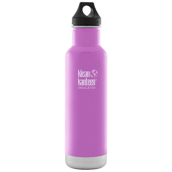 Klean Kanteen 592ml Classic Insulated Bottle Loop Cap Meadow Flower