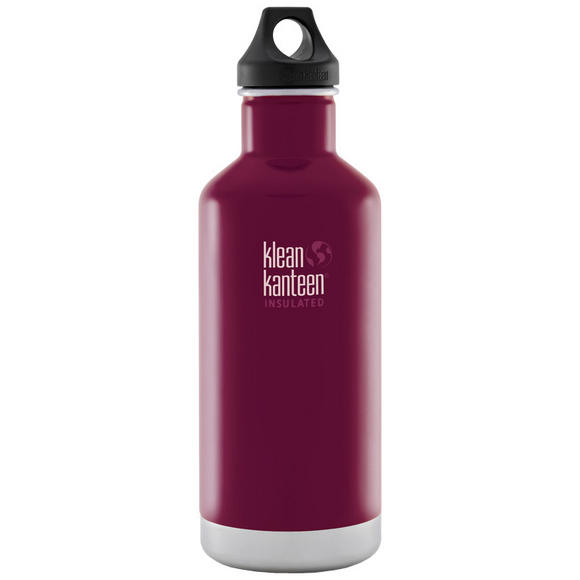 Klean Kanteen 946ml Classic Insulated Bottle Loop Cap Beet Root
