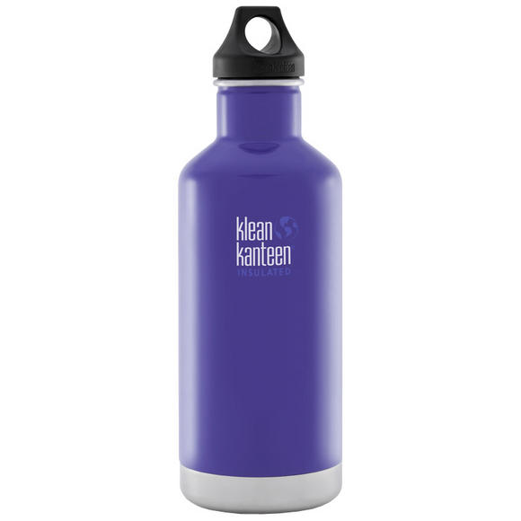 Klean Kanteen 946ml Classic Insulated Bottle Loop Cap Blooming Iris