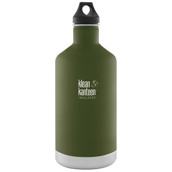Klean Kanteen 1900ml Classic Insulated Bottle Loop Cap Fresh Pine