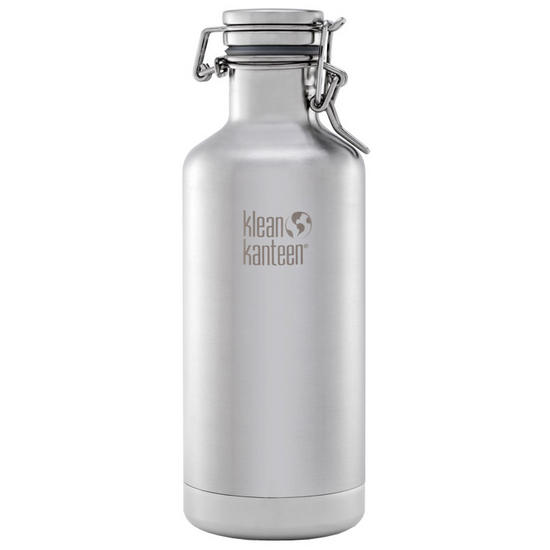 Klean Kanteen Growler Insulated 946ml with Swing Lok Cap Brushed Stainless