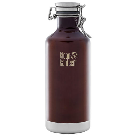 Klean Kanteen Growler Insulated 946ml with Swing Lok Cap Dark Amber