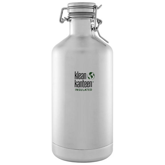 Klean Kanteen Growler Insulated 1900ml with Swing Lok Cap Brushed Stainless