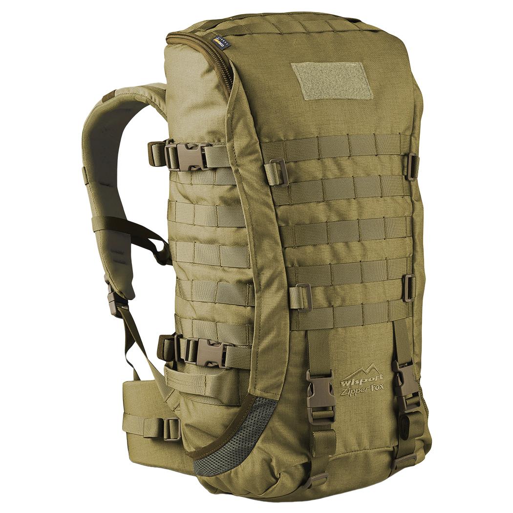 wisport zipperfox 40l sac dos de patrouille militaire. Black Bedroom Furniture Sets. Home Design Ideas