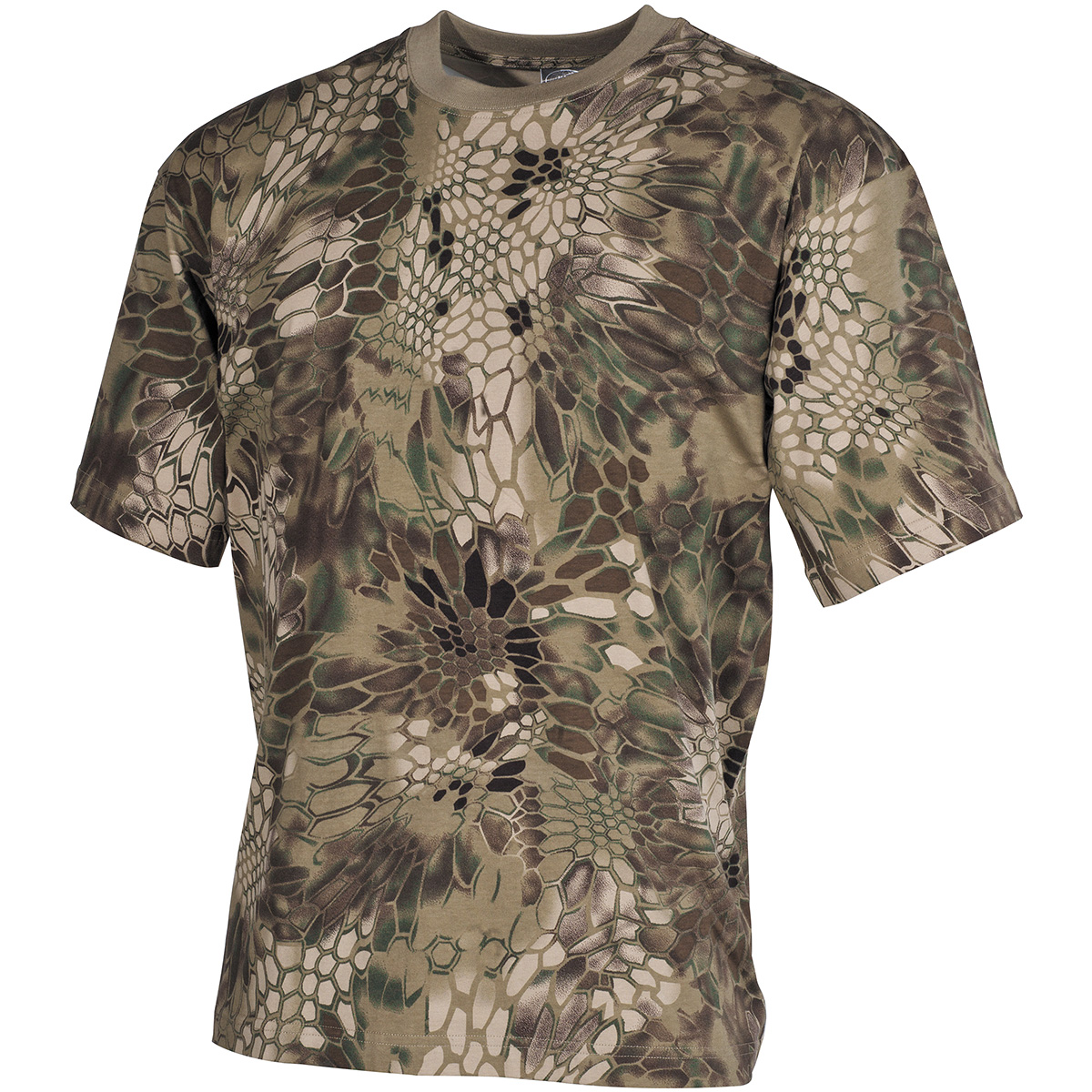 Mfh hunting camouflage cotton top mens fishing hiking army for Camo fishing shirt
