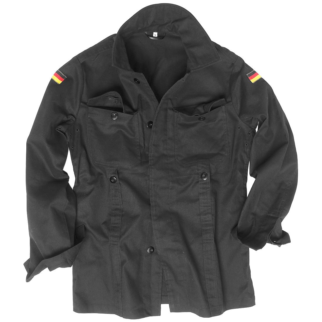 Mil-Tec BW German Army Moleskin Jacket Military Mens Security ...