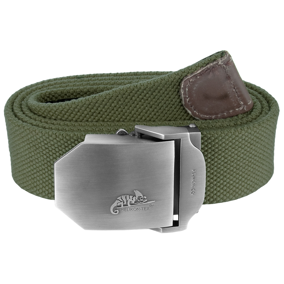 HELIKON TACTICAL MENS MILITARY COTTON CANVAS BELT METAL BUCKLE ARMY OLIVE GREEN