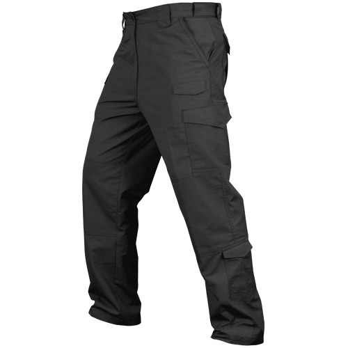 Condor Tactical Trousers Patrol Cargo Mens Pants Military Combats Ripstop Black