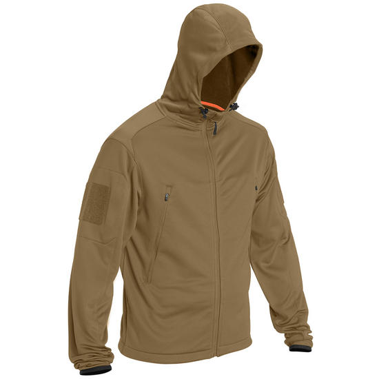 5.11 Reactor Full Zip Hoodie Battle Brown