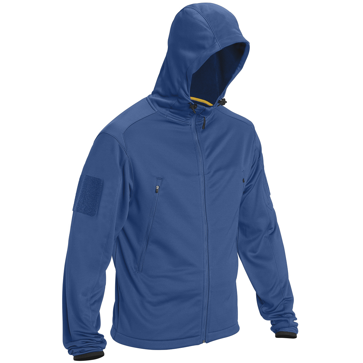 5.11 TACTICAL REACTOR HOODIE WARM MENS MILITARY CCW FLEECE FULL ZIP COBALT BLUE