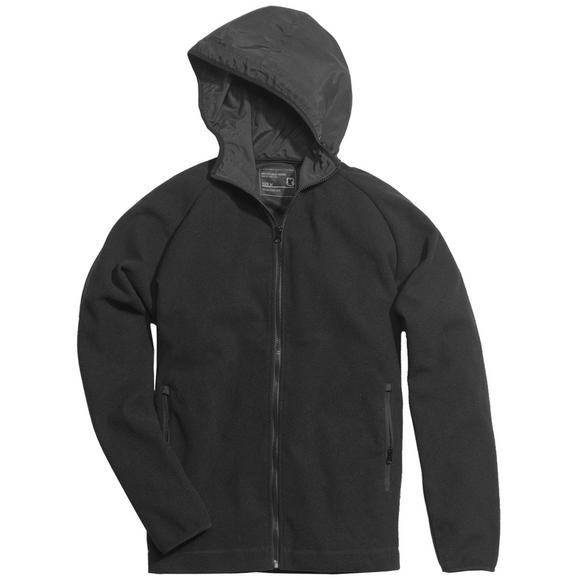 Surplus Fleece Hoodie Jacket Black