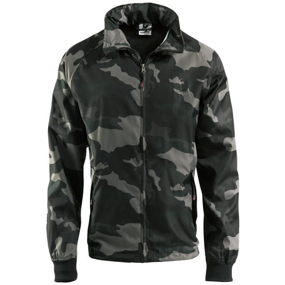 Surplus Windbreaker Basic Black Camo