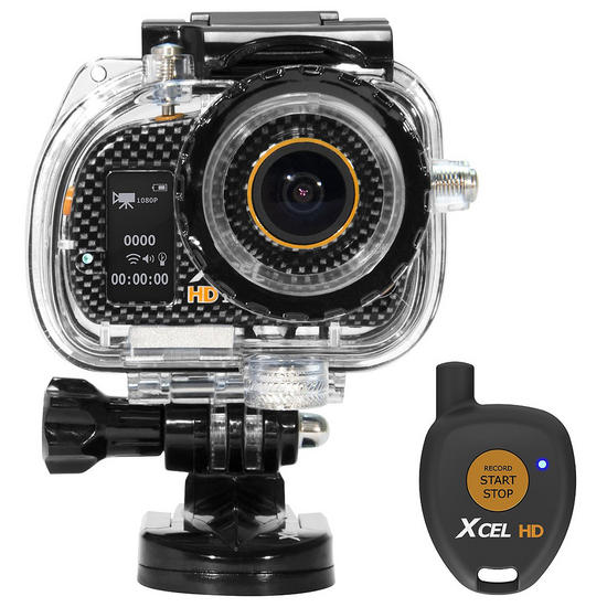 Xcel HD Sport Edition Camera Carbon