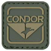 Condor Emblem PVC Patch Green/Brown