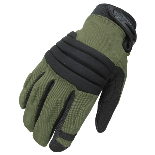 CONDOR STRYKER TACTICAL COMBAT MENS GLOVES PADDED KNUCKLE AIRSOFT HUNTING SAGE