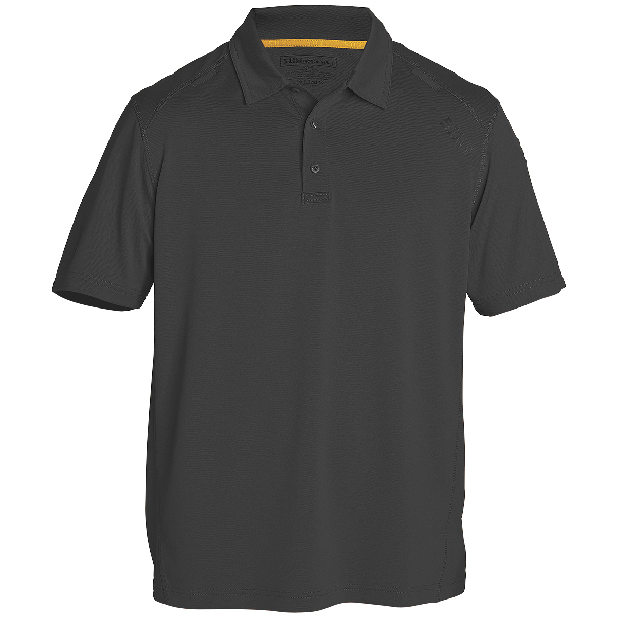 mens black work polo shirts