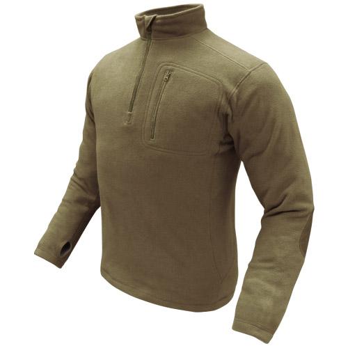 Condor 1/4 Zip Fleece Pullover Tan | Fleeces | Military 1st