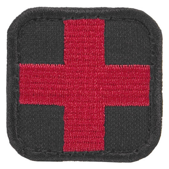 Condor Medic Patch Black/Red