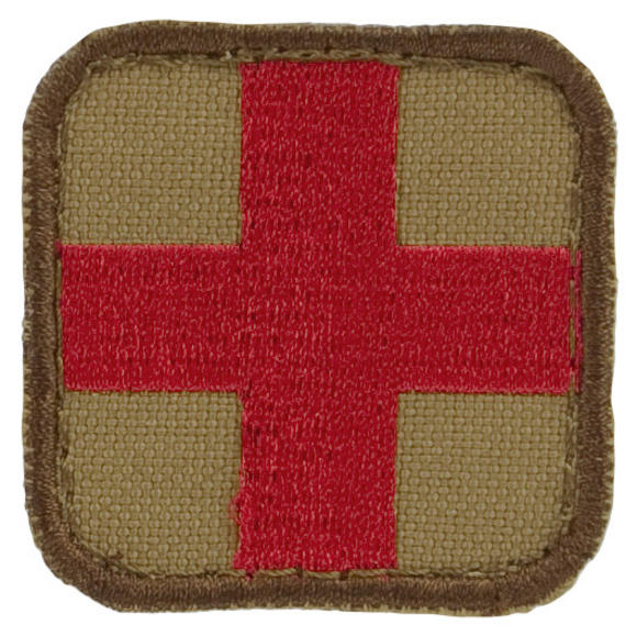 Condor Medic Patch Tan/Red