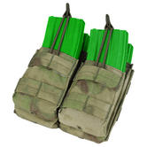 Condor Double Stacker M4/M16 Mag Pouch A-TACS FG