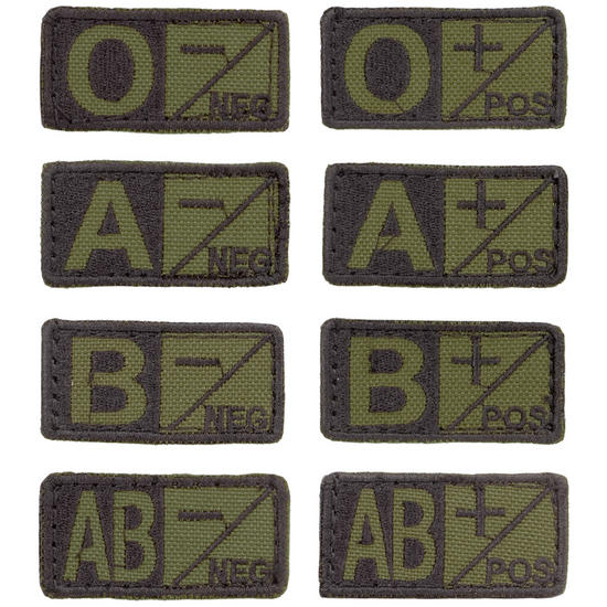 Condor Blood Patch Olive Drab/Black