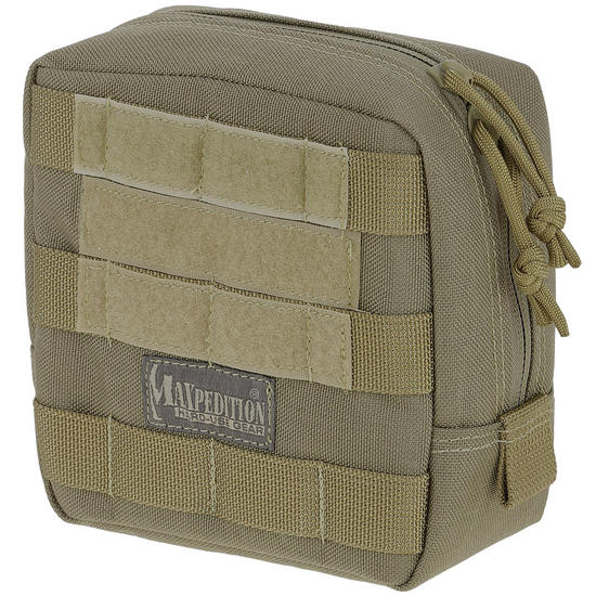 "Maxpedition 6"" x 6"" Padded Pouch Khaki"