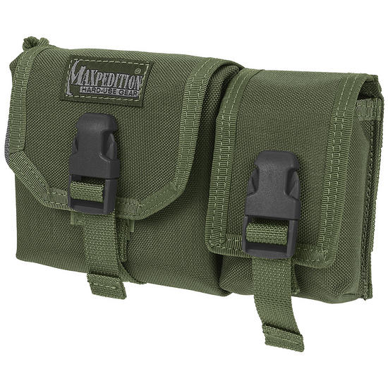 Maxpedition Tear Away Waterproof Map Case with GPS Pouch OD Green