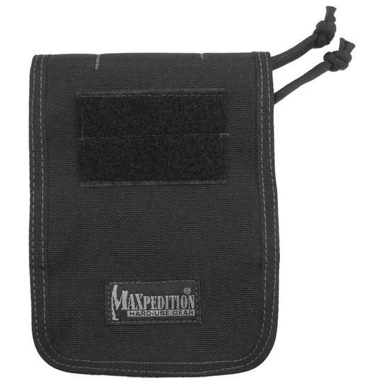 "Maxpedition 4"" x 6"" Notebook Cover Black"