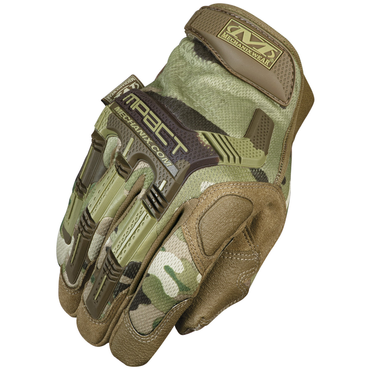 Leather work gloves m pact 2 - Mechanix Wear M Pact Gloves Multicam