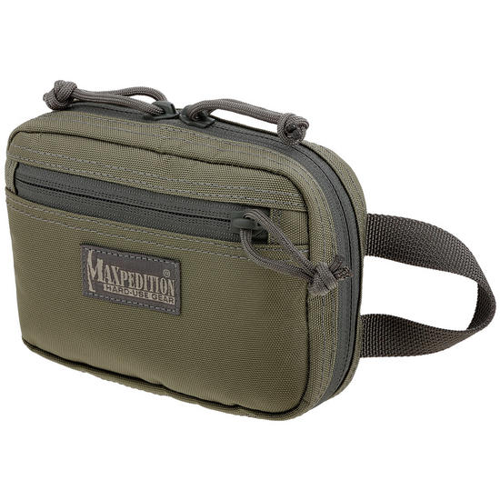 Maxpedition Hook & Loop Modular Two Way Pocket Small Khaki Foliage
