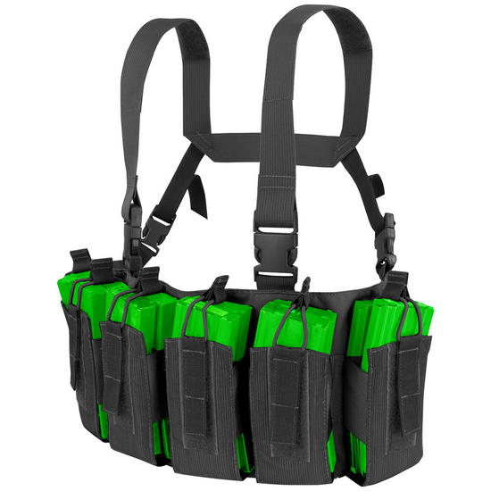 Condor Barrage Chest Rig Black