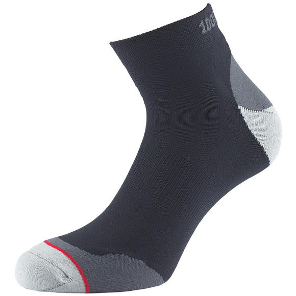1000 Mile Fusion Anklet Sock Black