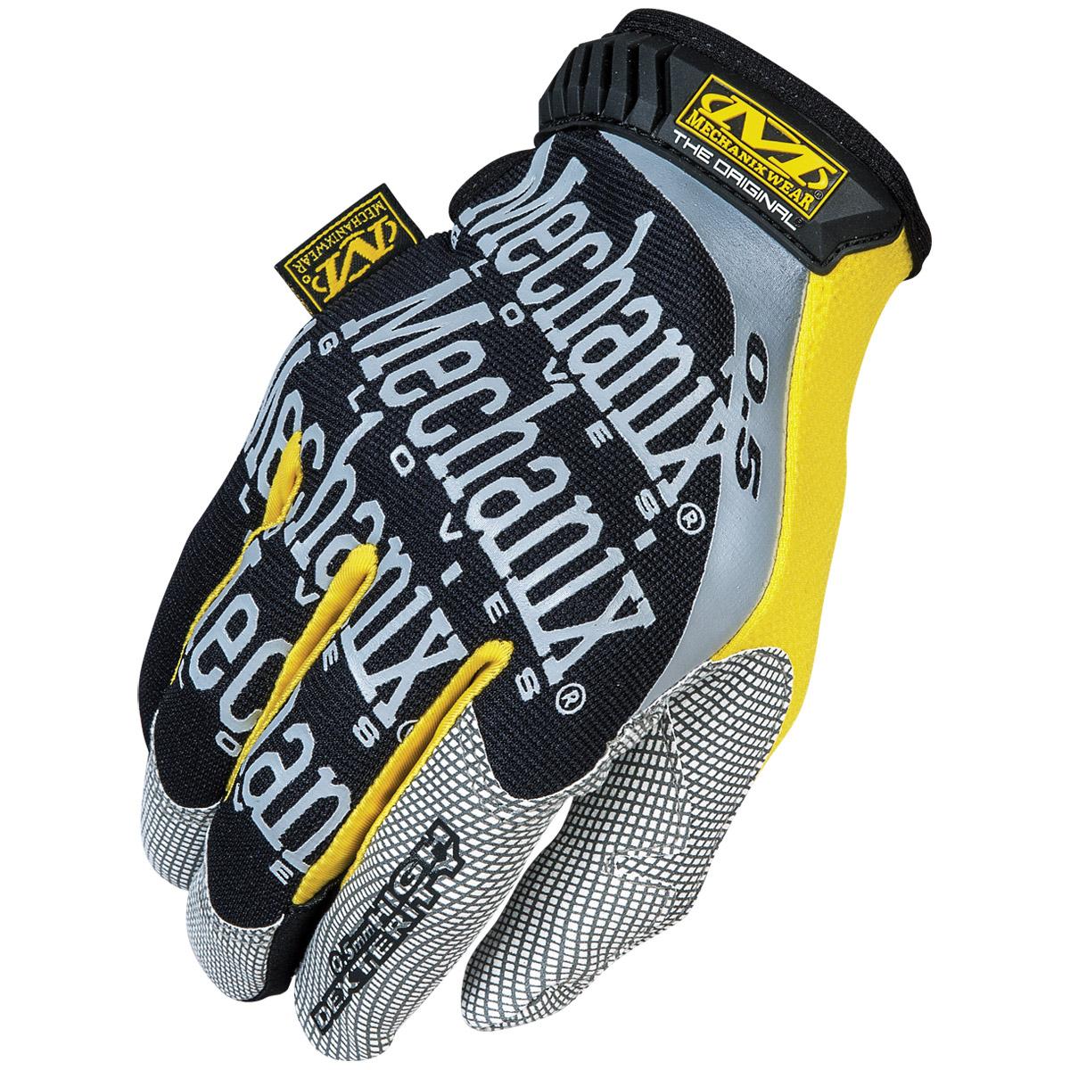 Mens yellow gloves - Mechanix Wear Original 0 5 Tactical Mens Gloves