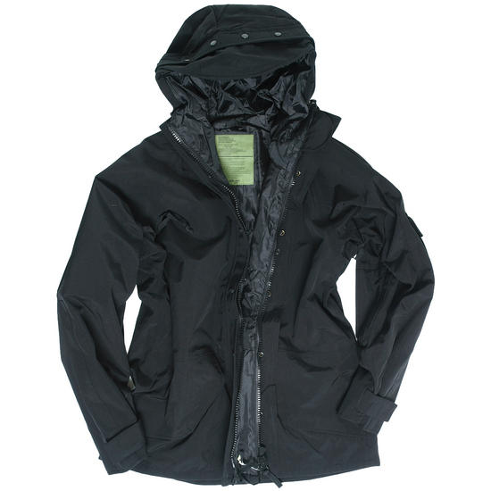 Mil-Tec Wet Weather Trilaminate Jacket Black