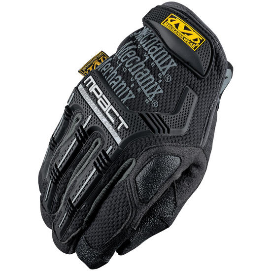 Mechanix Wear M-Pact Gloves Black/Grey