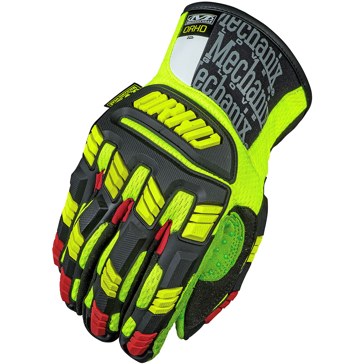 Leather work gloves m pact 2 - Mechanix Wear The Safety M Pact Orhd Padded
