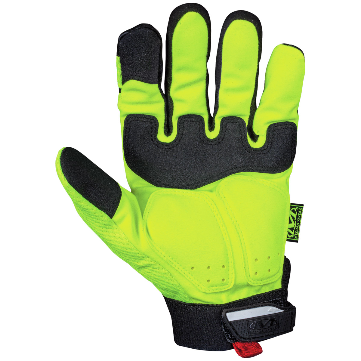 Mens yellow gloves - Sentinel Mechanix Wear The Safety M Pact Hi Viz Work Mens Gloves Impact Protection Yellow