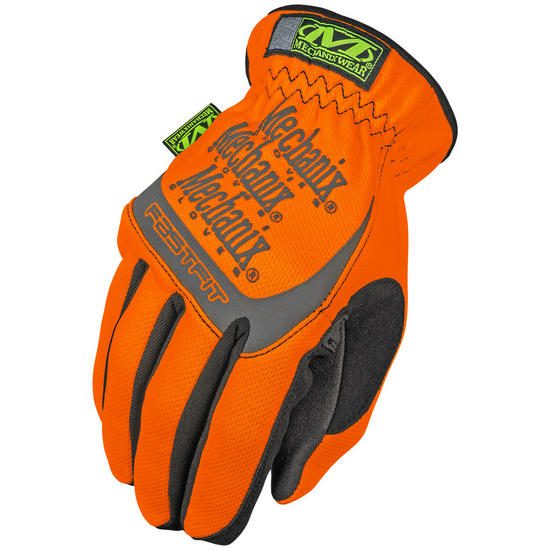 Mechanix Wear The Safety FastFit Gloves Orange