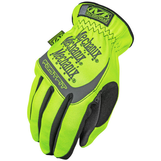 Mechanix Wear The Safety FastFit Gloves Yellow