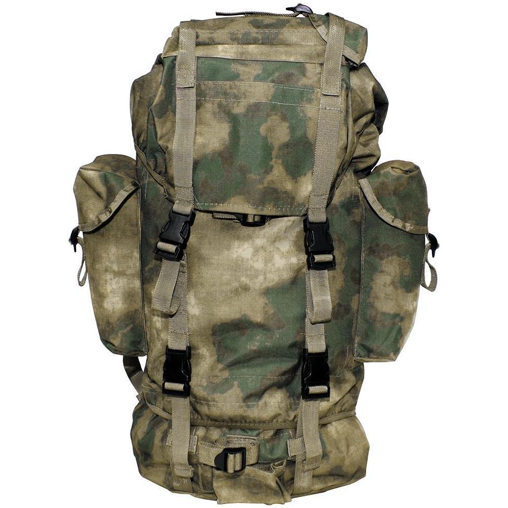 Mfh German Army Rucksack 65l Hdt Camo Fg Backpacks