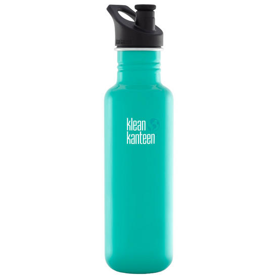 Klean Kanteen Classic 800ml Bottle with Sport Cap 3.0 Tidal Pool