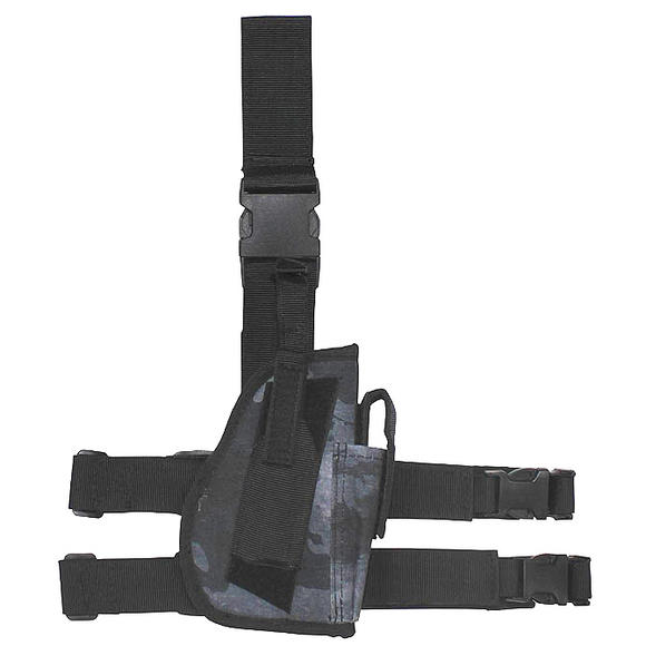 MFH Right Leg Holster HDT Camo LE