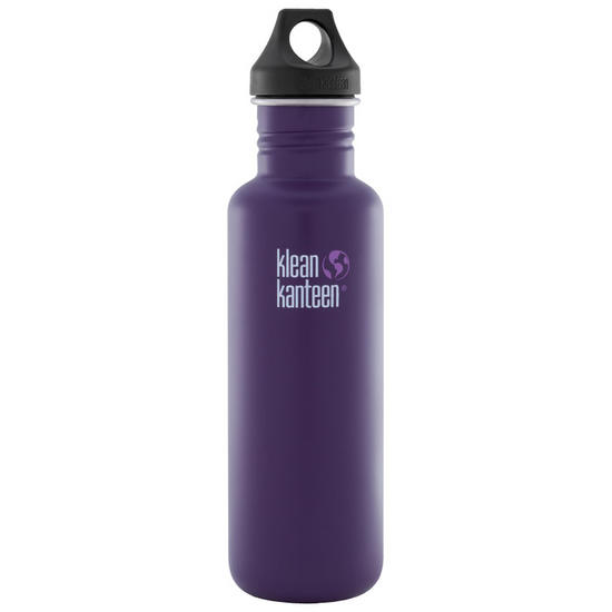 Klean Kanteen Classic 800ml Bottle with Loop Cap Berry Syrup