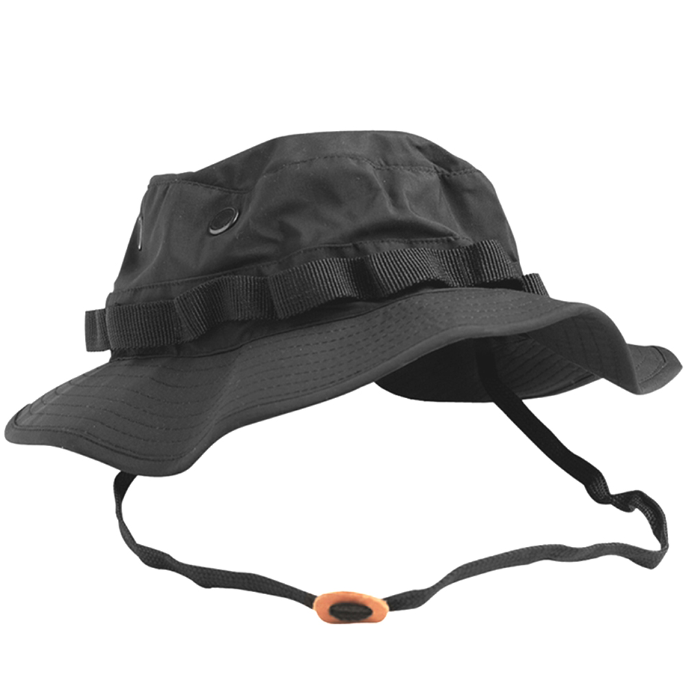 Details about TEESAR US GI MILITARY PATROL BOONIE HAT TRILAMINATE  WATERPROOF JUNGLE CAP BLACK ae6bfde9d77