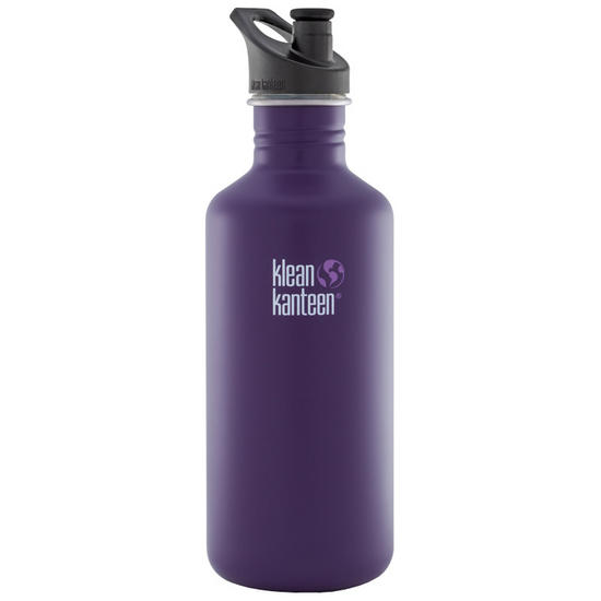Klean Kanteen Classic 1182ml Bottle with Sport Cap Berry Syrup