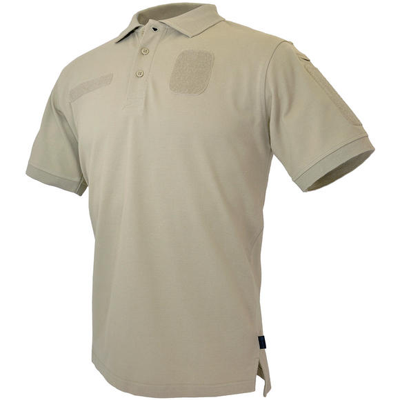 Hazard 4 Loaded ID Centric Modular Patch Polo Shirt Desert Tan
